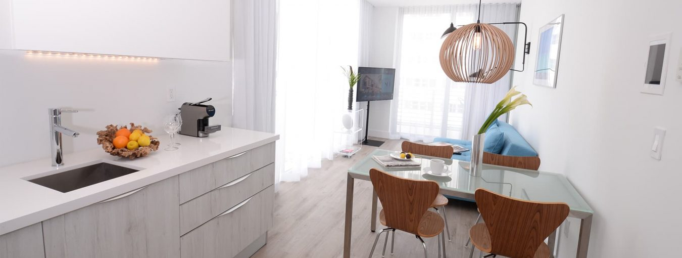 Penthouse one bedroom corner with terrace-2